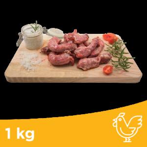 collo pollo intero 1kg ossa polpose